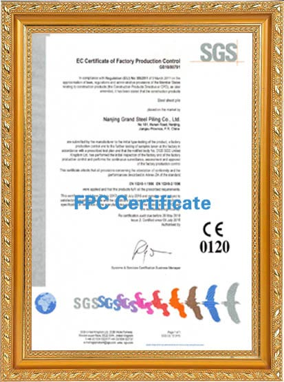 FPC certificates