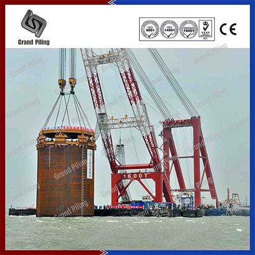 Proyecto del Mar de China Meridional (la mayor pila de tuberías de todo el mundo.)